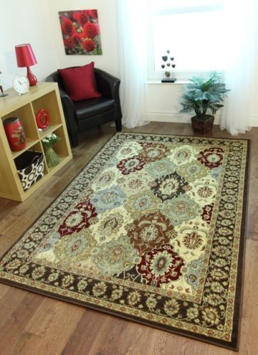 Details About Traditional Rug Small Medium X Large Brown