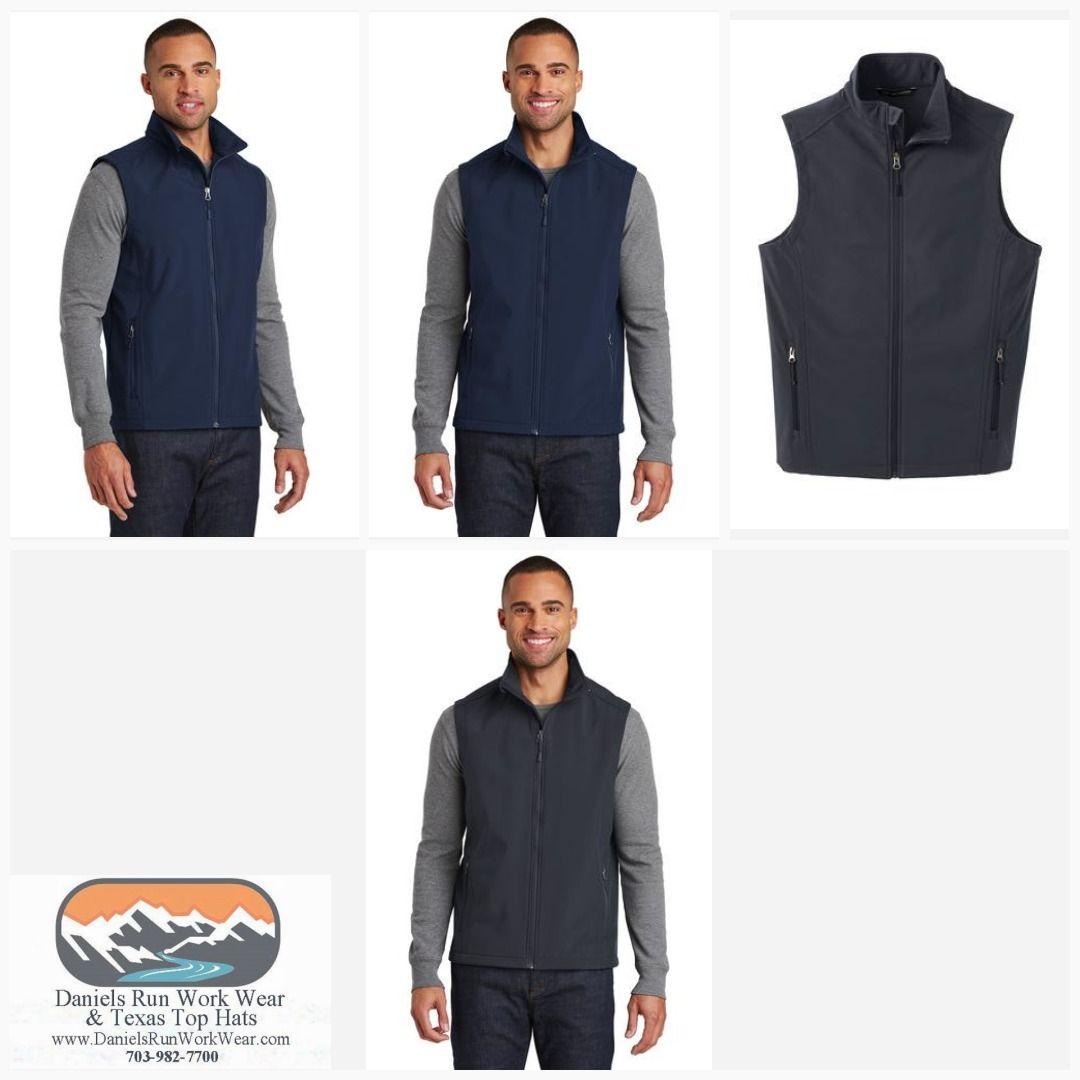 Port Authority Mens Core Soft Shell Vest Core Soft Shell Vest J325-Men/'s