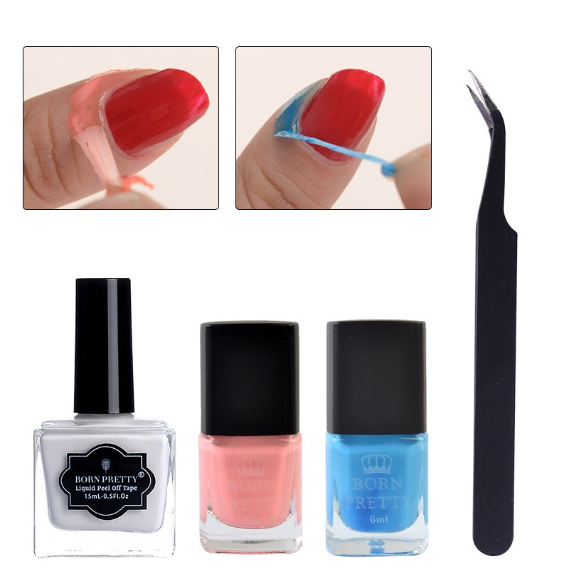 Useful Nail Liquid Tape And Tweezer Tool Is On Sale From