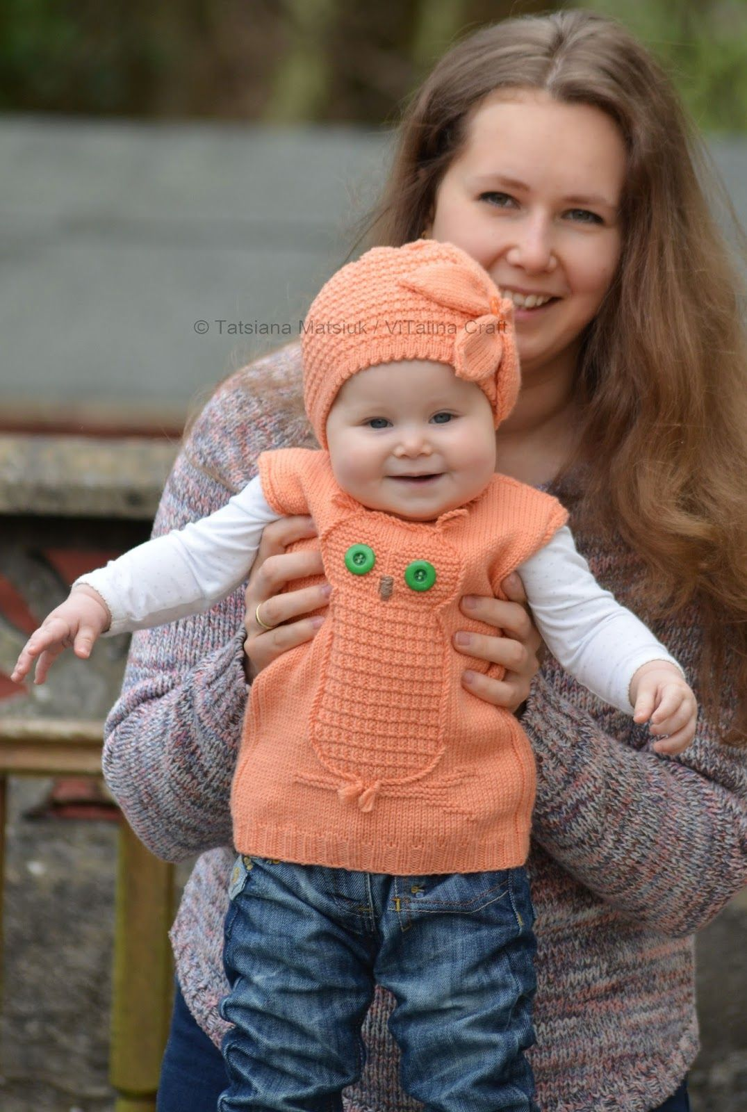 I have just finished creating my new knitted garment for my little daughter. It is a beautiful vest with an owl at front. Please welcome W...