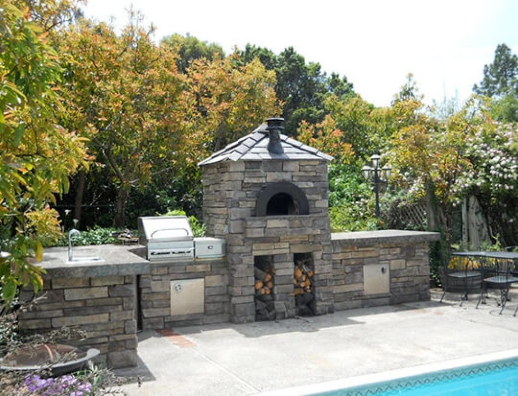 Outdoor Kitchen Designs With Pizza Oven Designing An Outdoor Kitchen Los  Angeles Ovenworks Images
