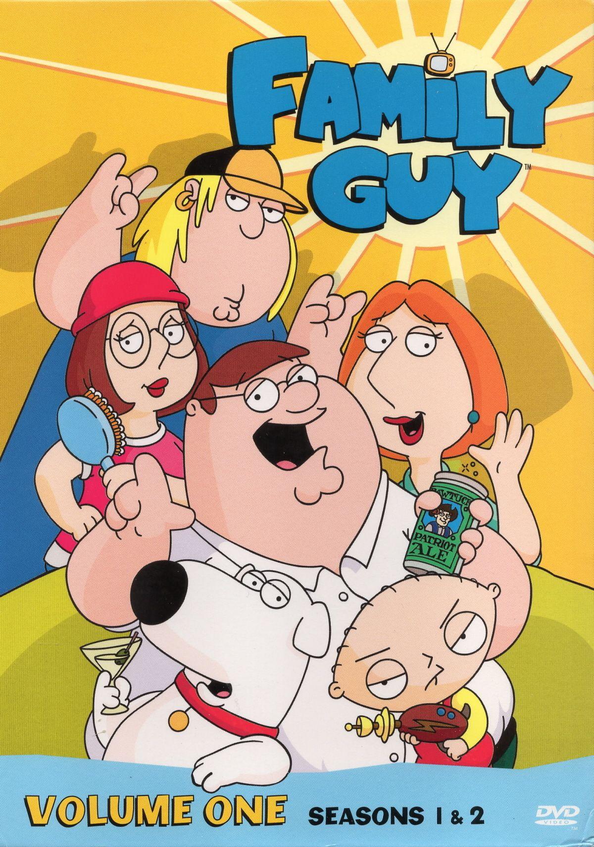Family Guy Season 1 & 2 (1999) Family guy season