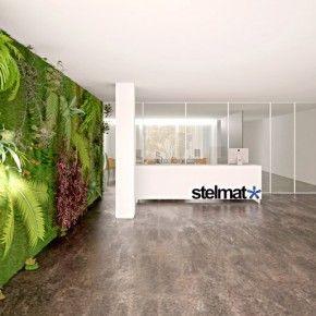 Superb Vertical Wall Garden Beautiful Offices Of Stelmat Teleinformatica Wallpaper  2