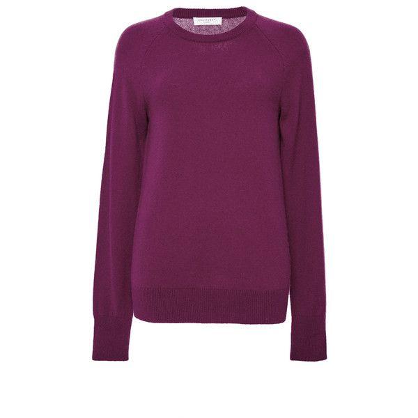 Equipment Dark Red Cashmere Sloane Crewneck Sweater (€245 ...