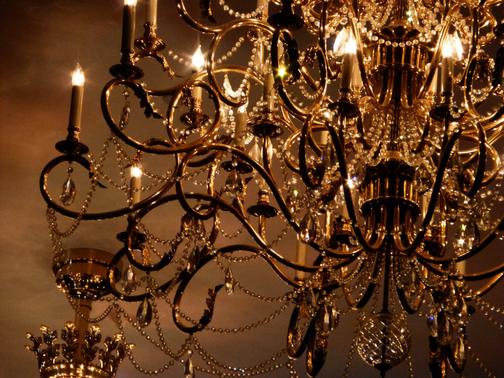 Image about chandelier in Castle chambers by Hotarubi