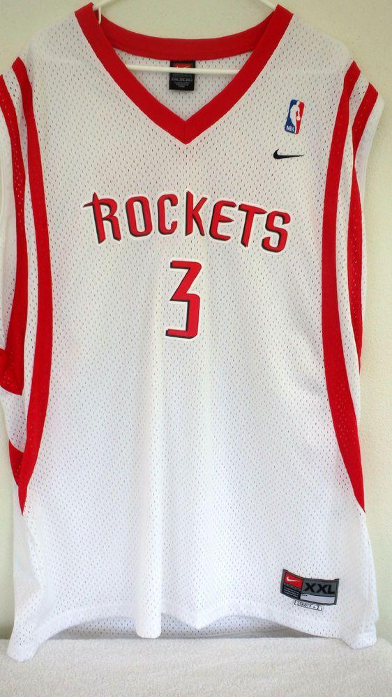 49eaf27cbfa Nike Houston Rockets Steve Francis #3 NBA Swingman VNTG Classic Sz XXL Sewn  EUC #Nike #HoustonRockets