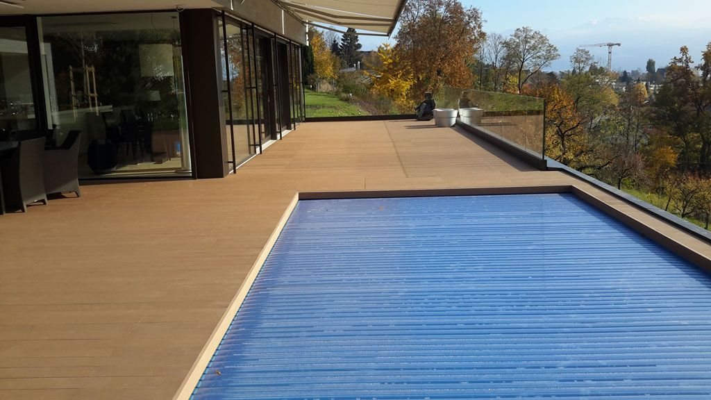 Wpc Terrasse Und Pool Am Zurichsee Pools Mit Wpc Terrassendielen