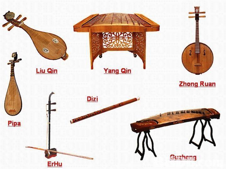 Asian music instrumentations