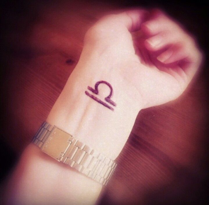 Instragram Ishi Tattoo Wrist Cuffs: LIBRA Tattoo ~ Image Found On Instagram