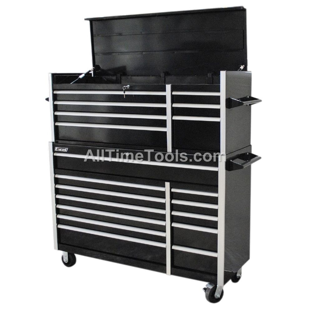 56 Quot Professional Rolling Tool Cabinet Tool Chest Combo