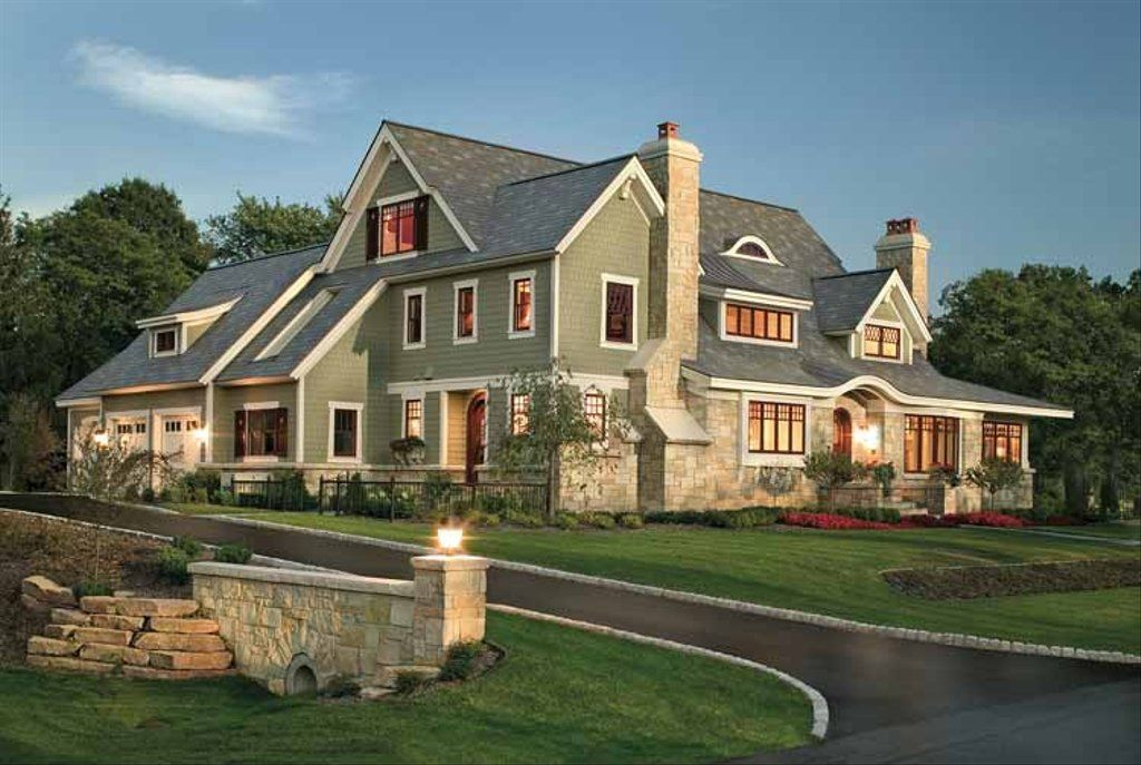 Craftsman Style House Plan 4 Beds 3 5 Baths 4610 Sq Ft Plan 928 19 In 2020 Shingle House Plans Design Your Dream House Shingle House
