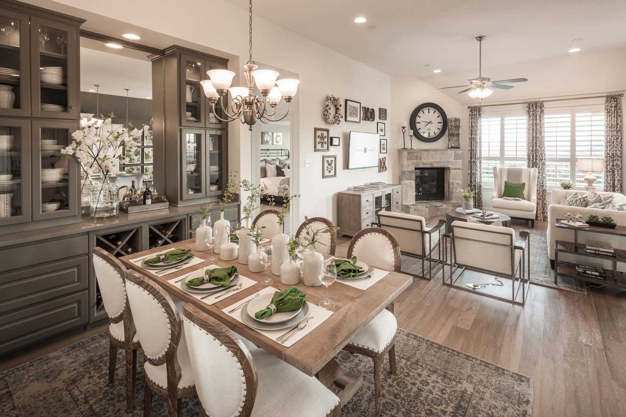 Highland Homes Plan 554 Model Home in