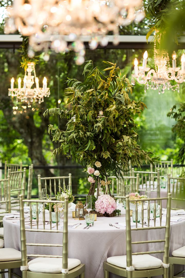Fairy Tale Wedding Guest Table