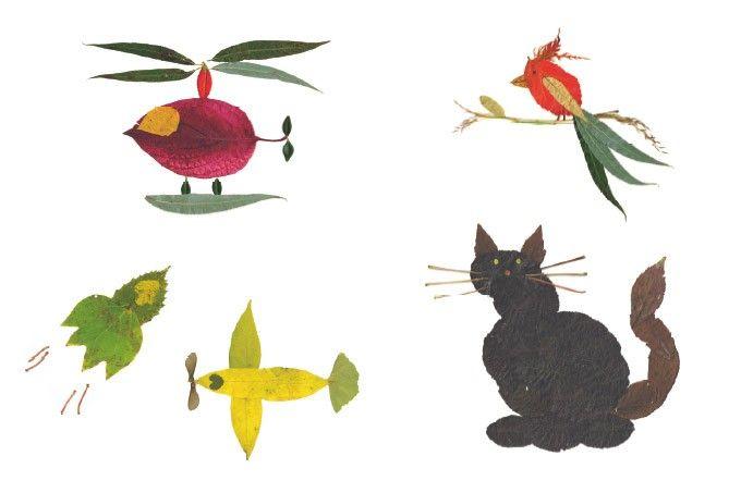 Blätter-Collagen PDF | Collage, Blätter und Flugzeug