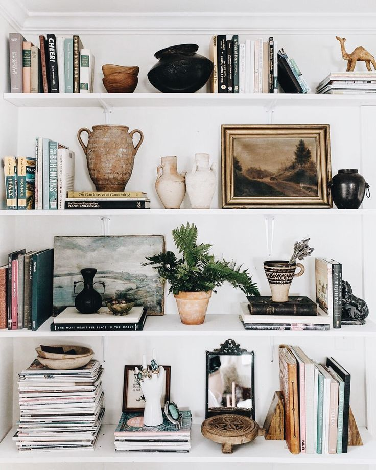 Photo of Perfectly imperfect shelfie.