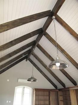 Image Result For Skylight Exposed Truss Exposed Trusses Roof