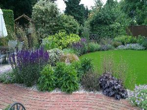 Modern Cottage Garden Portfolio Garden Design Bishops Stortford Hertfordshire Essex Artificial Plants Outdoor Artificial Garden Plants Small Artificial Plants