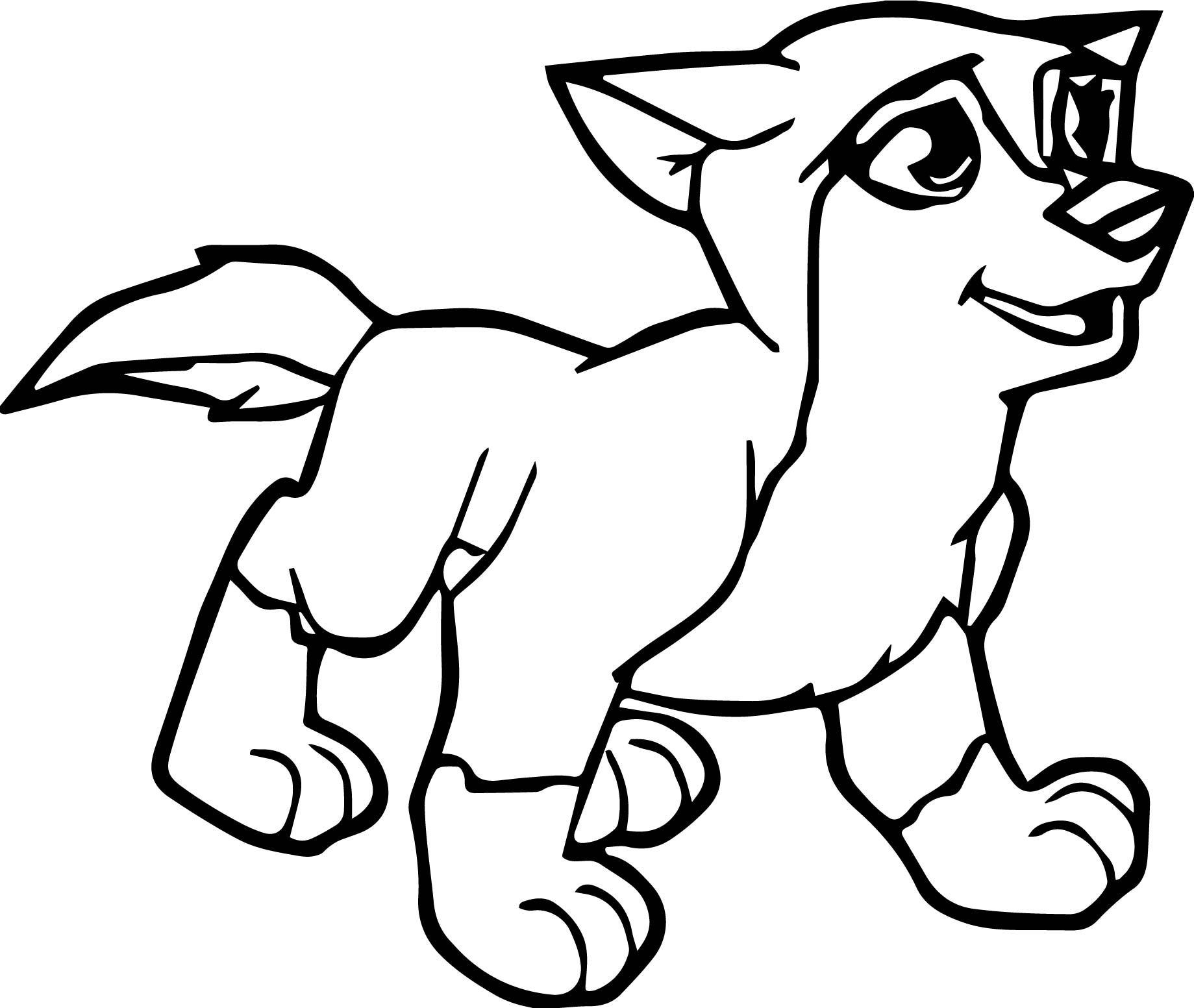 Nice Young Alpha And Omega Wolf Coloring Page Coloring Pages Coloring Pictures Cute Sheep