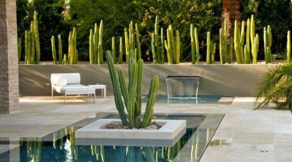 Terrassengestaltung Mit Wasser Decoration Jardin Jardin