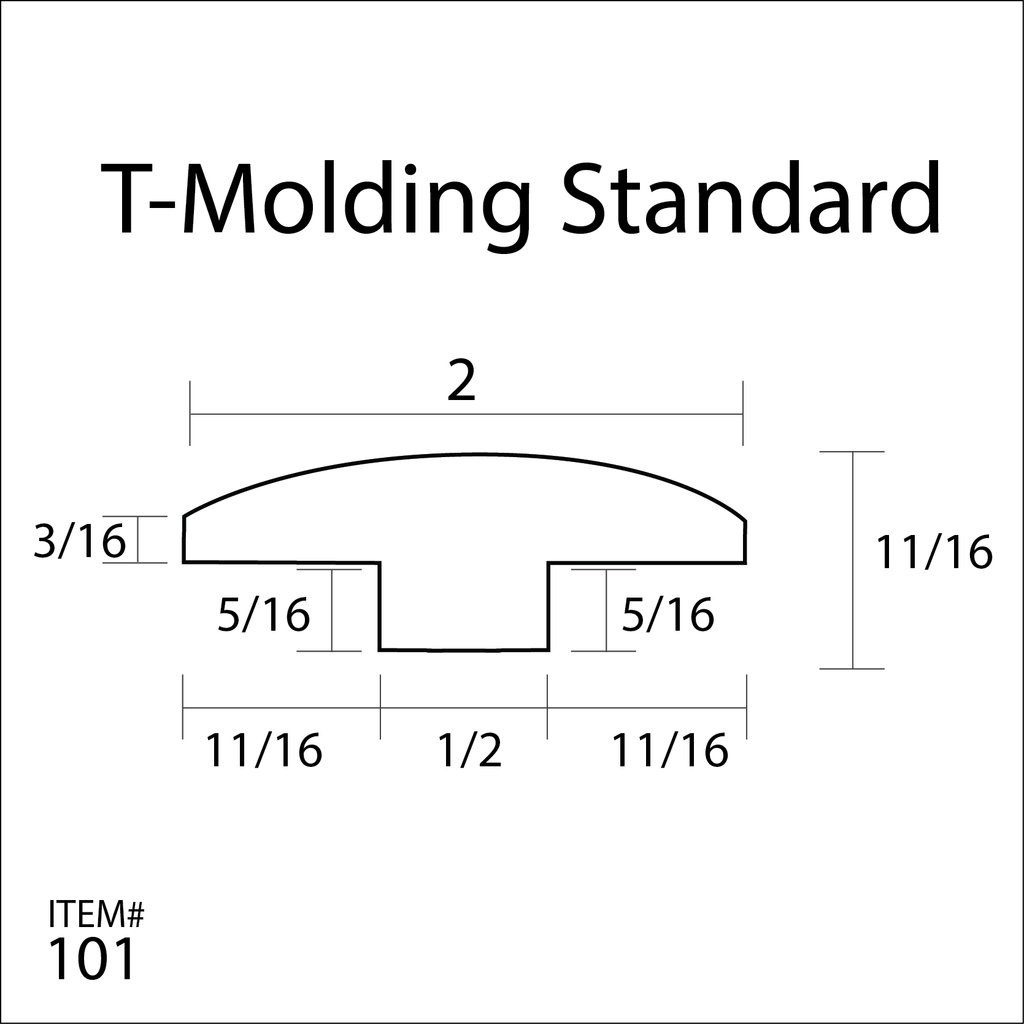 Flexitions Stainable Flexible T Molding 168 Floor Installation