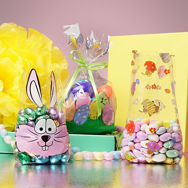 Easter cellophane bags for your easter treat bags they make great easter easter cellophane bags negle Choice Image