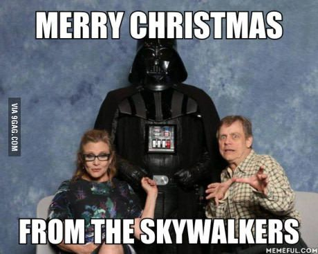 And A Happy New Year Star Wars Humor Star Wars Quotes Star Wars Christmas