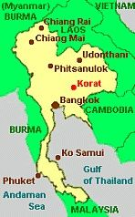 Map Of Thailand Travel Asia Thailand Asia Travel Map