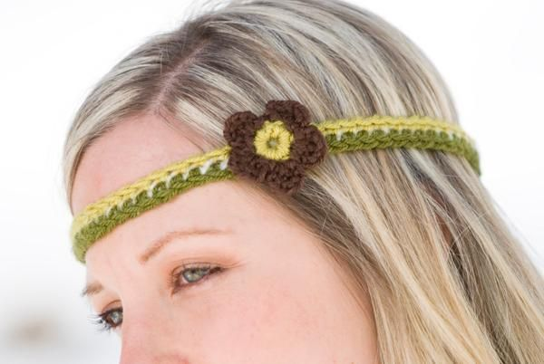 Free Retro Headband Crochet Pattern | Crochet for head, hands and ...