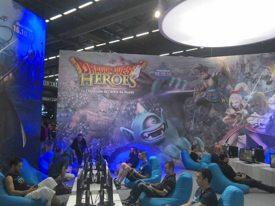 dragon quest heroes japan expo 2015