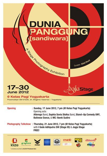 Pameran Stage Dunia Panggung Sandiwara By At Jogjastage Cc