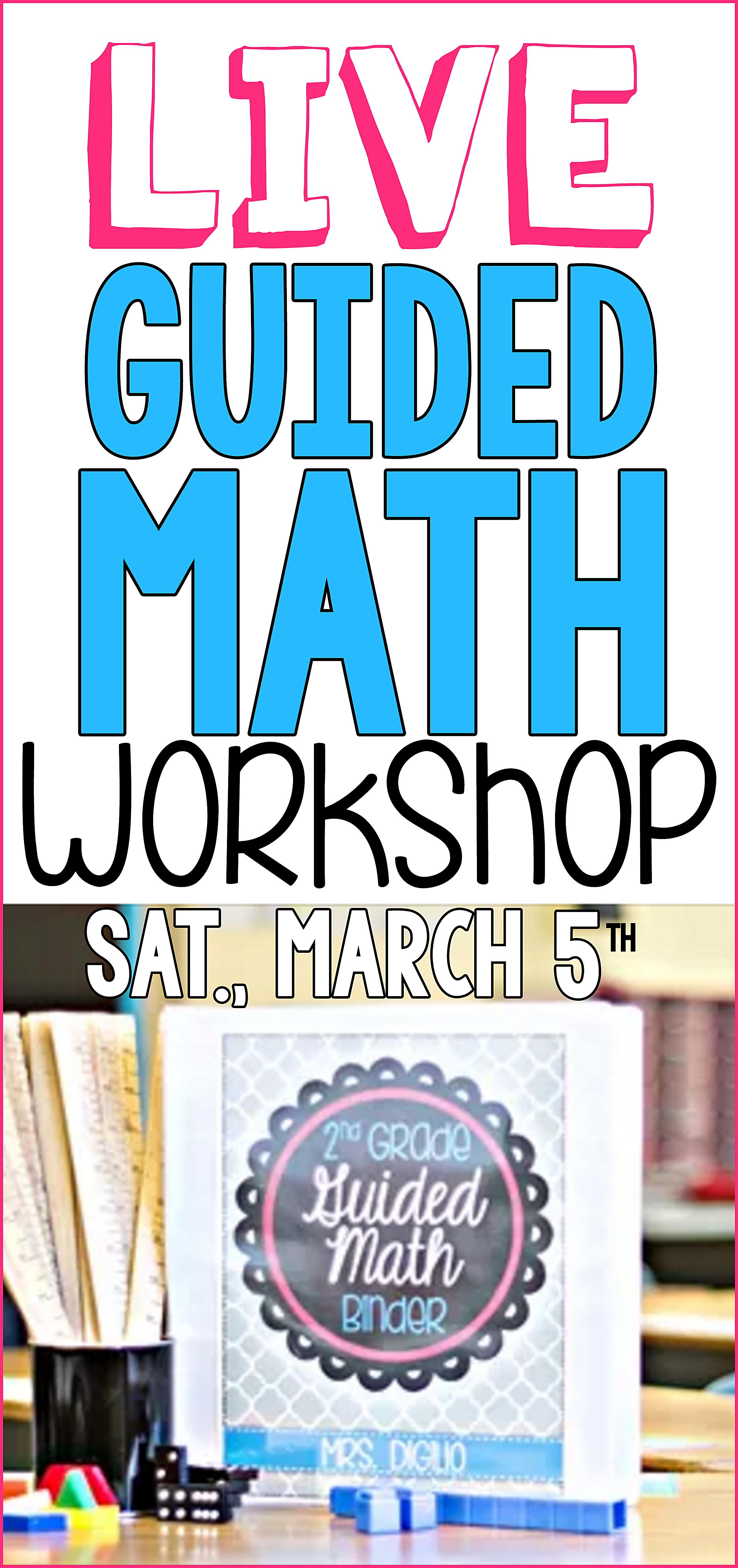 Check out this FREE Guided Math Workshop Webinar called How to ...