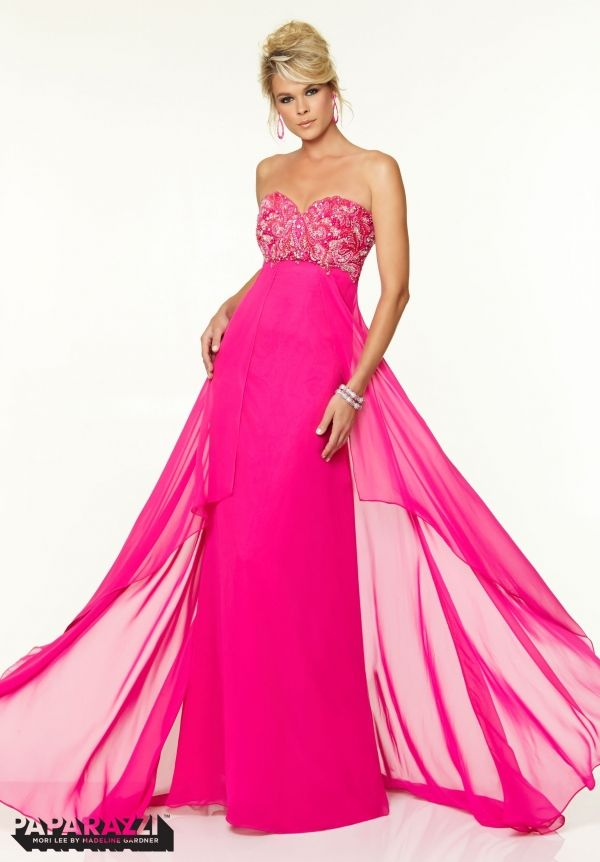 Click to Buy << Latest Design Hot Pink Prom Dresses Fast Shipping ...