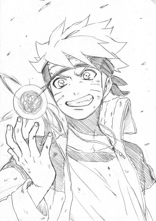 Rasengan naruto pinterest dessin manga et dessin manga - Croquis naruto ...