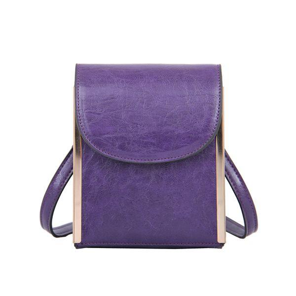 Mellow World Nimble Purple Crossbody Clutch Handbag