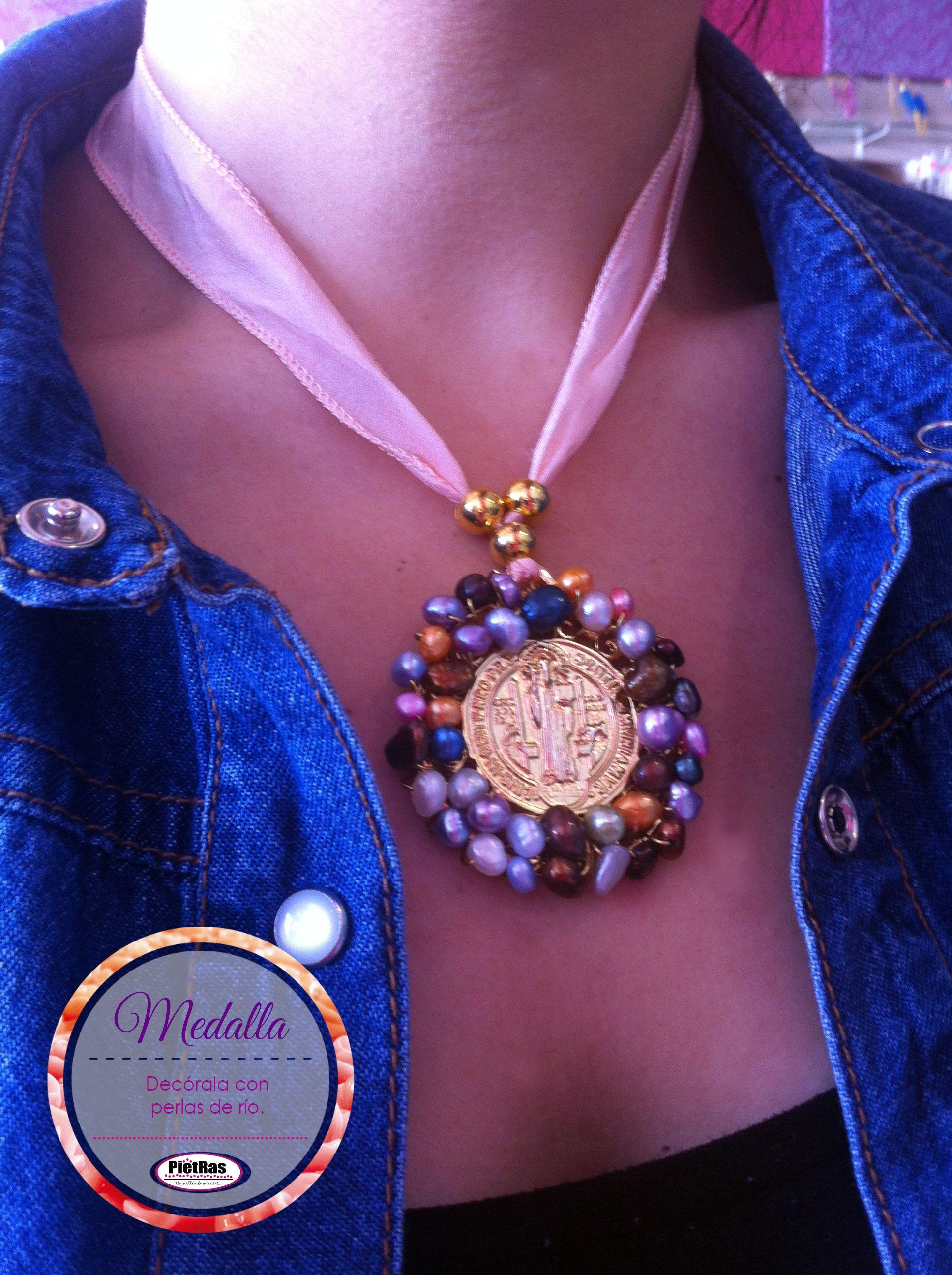Armando Tu Propio Medallon De San Benito Con Cristales Joyeria Religiosa Collar Bisuteria Aretes