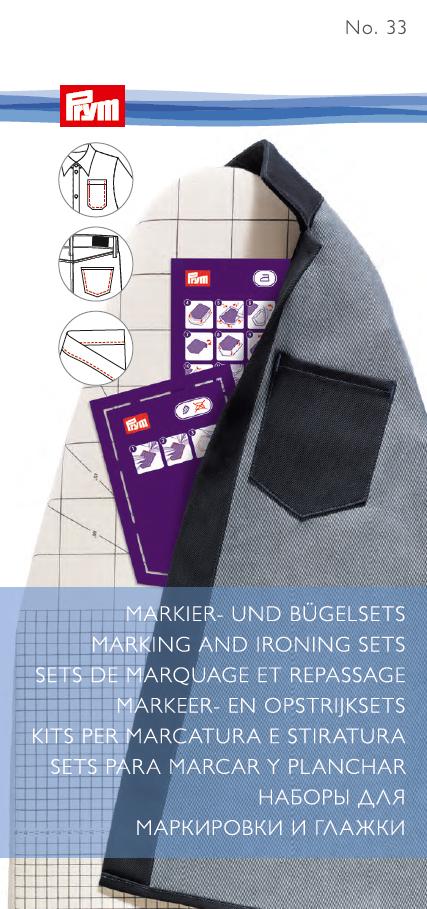 Marking and ironing sets