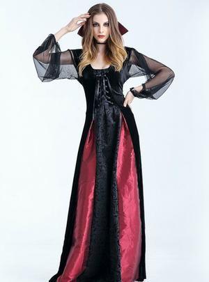 Halloween Vampire Costume Countess Vampire   Vampire dress ...