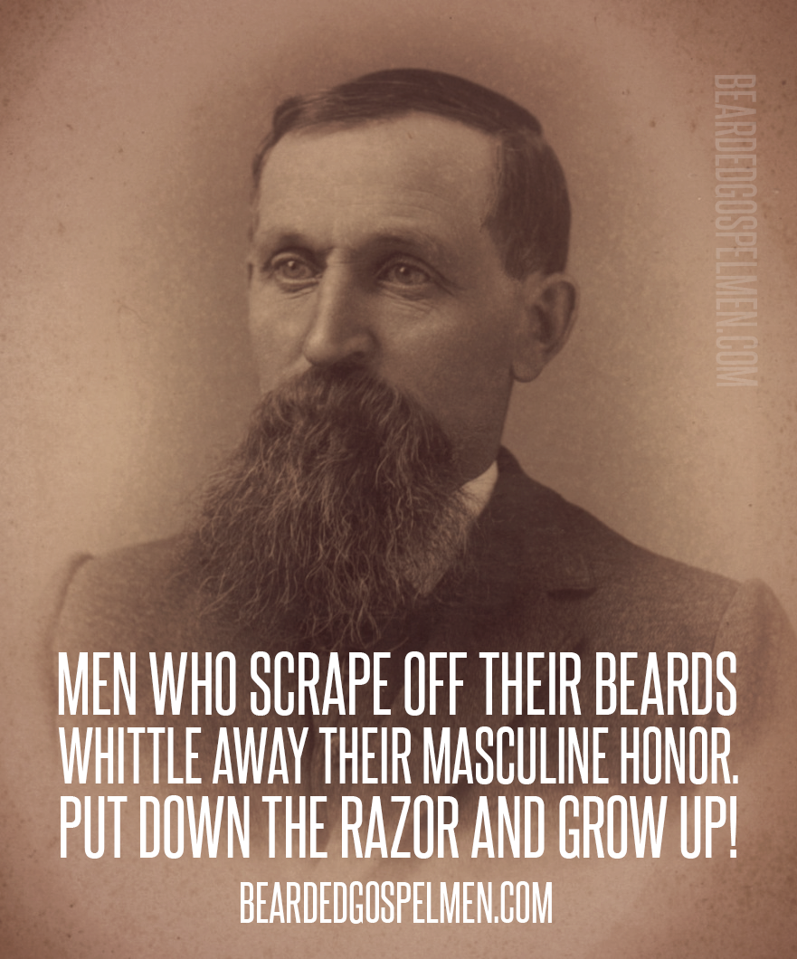 Do You Scrape Off Your Beard Quote Taken From Saintbeardrick Beard Quotes Beard Humor Beard