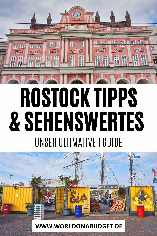 Die 21 besten Sehenswürdigkeiten in Rostock + Aktivitäten & Restaurants