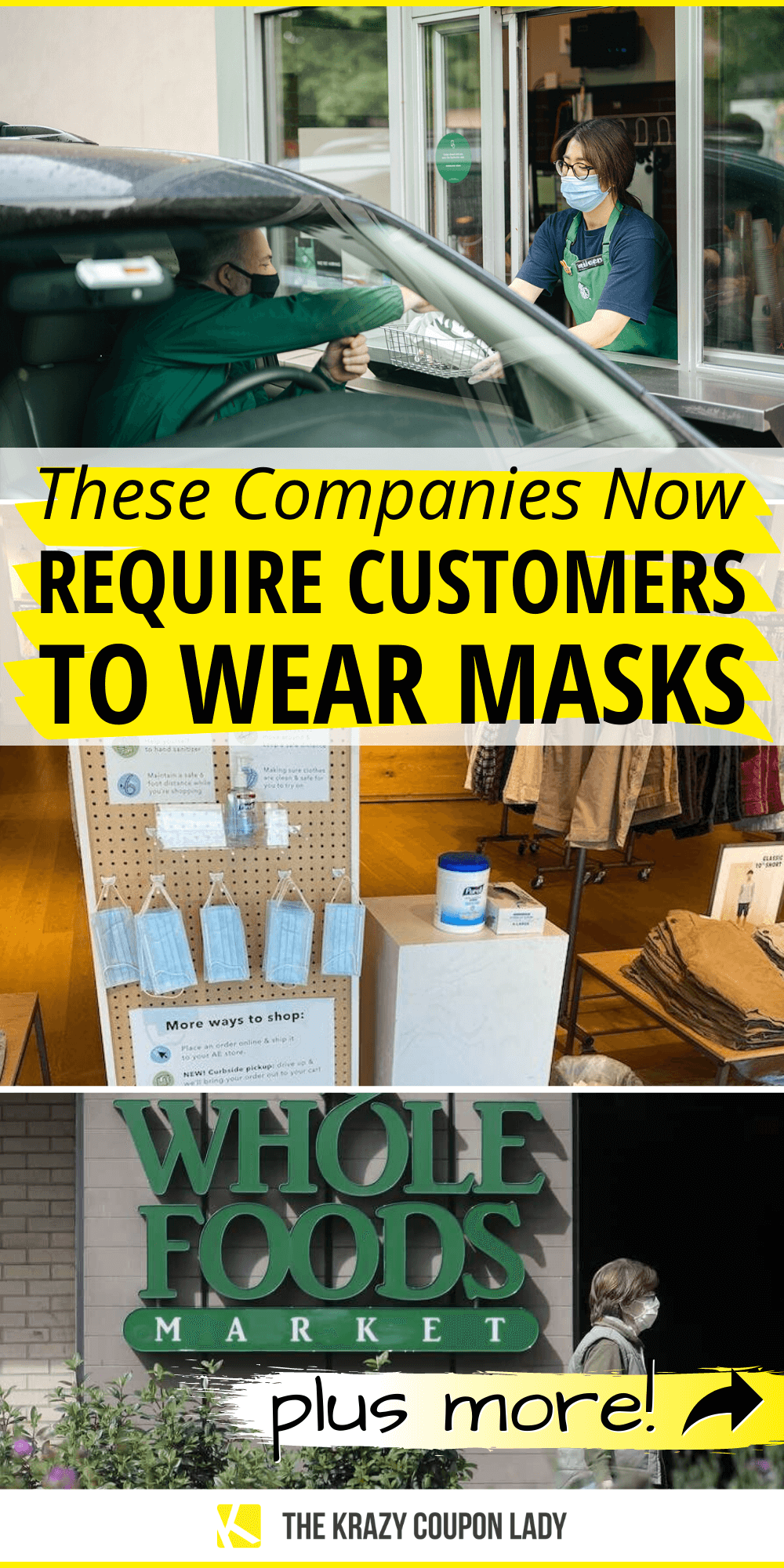 These Companies Now Require Customers to Wear Masks in