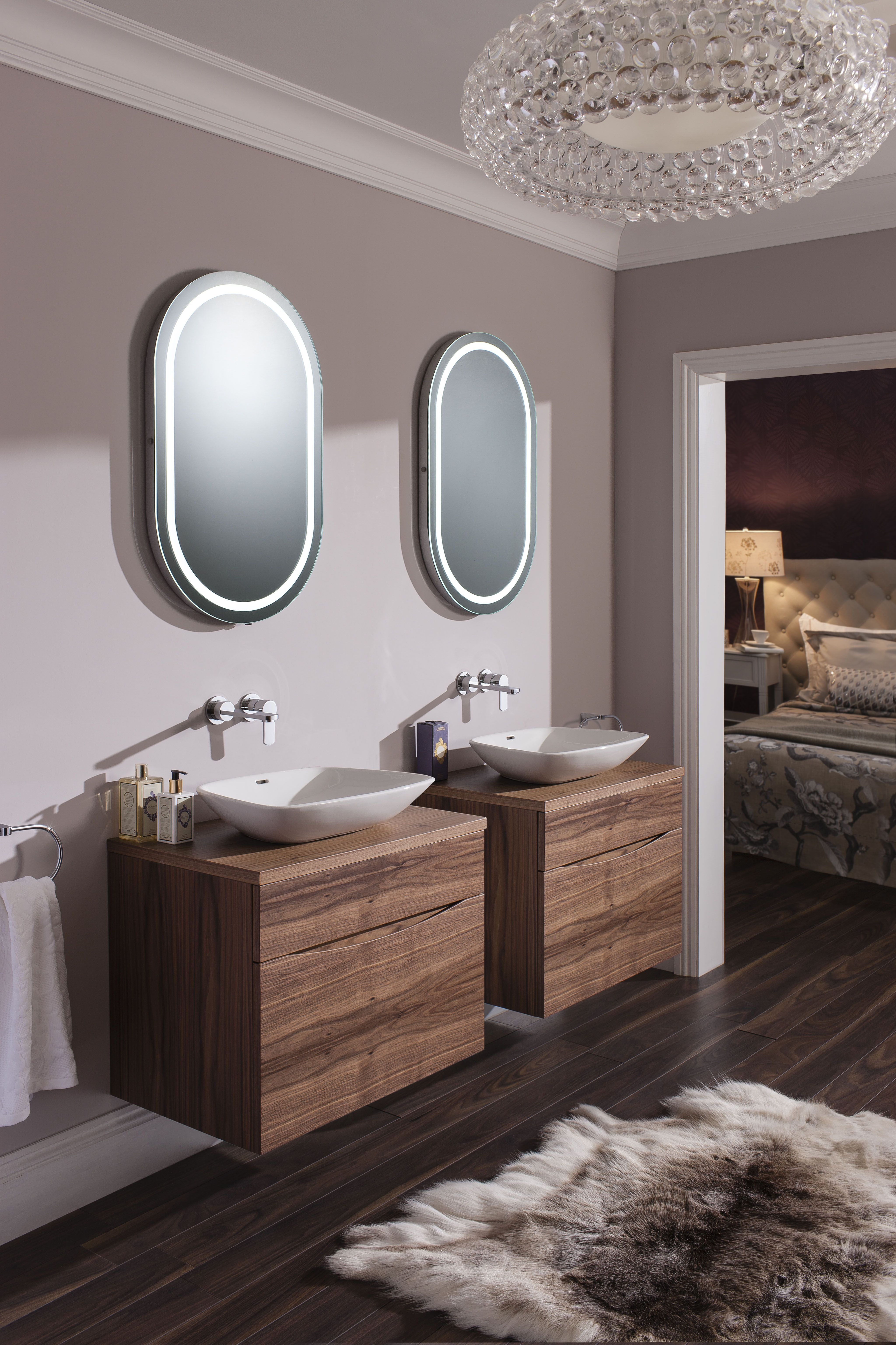 Glide Ii American Walnut Bathroom Furniture Range From Crosswater Http Www Bauhaus Bathrooms Co Uk Category Glide Ii American Walnut Badezimmer Bad Baden