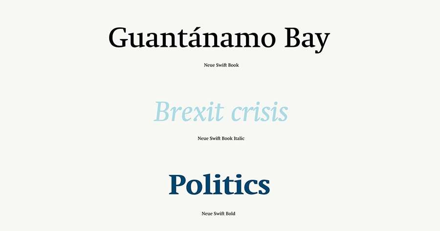 Swift — 為了解決實際問題而生的字型(一) | 許瀚文 | 立場新聞