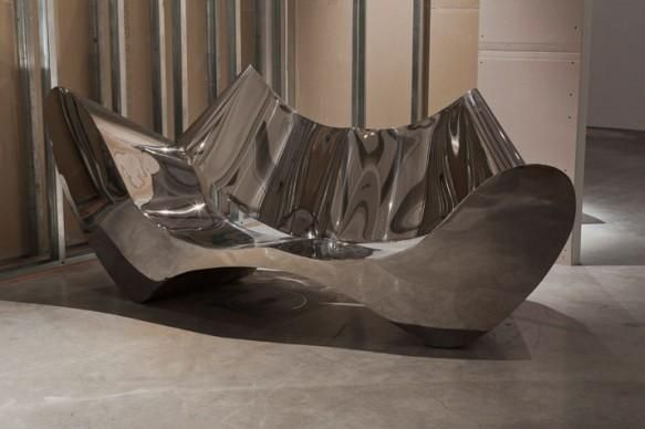 Superbe Worldu0027s Most Expensive Couch. This Stainless Steel Couch Designed By  Architect Ron Arad Will Set You Back By A Cool $300,000
