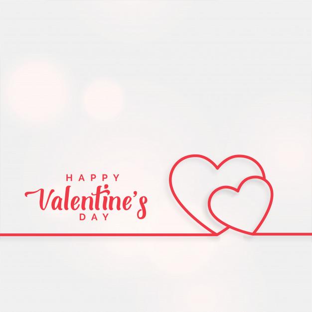 Fondo De Corazones De Linea Para El Dia De San Valentin Descargar Ve Frases Del Dia De San Valentin Feliz Dia De San Valentin Regalos Sencillos Para Mi Novio
