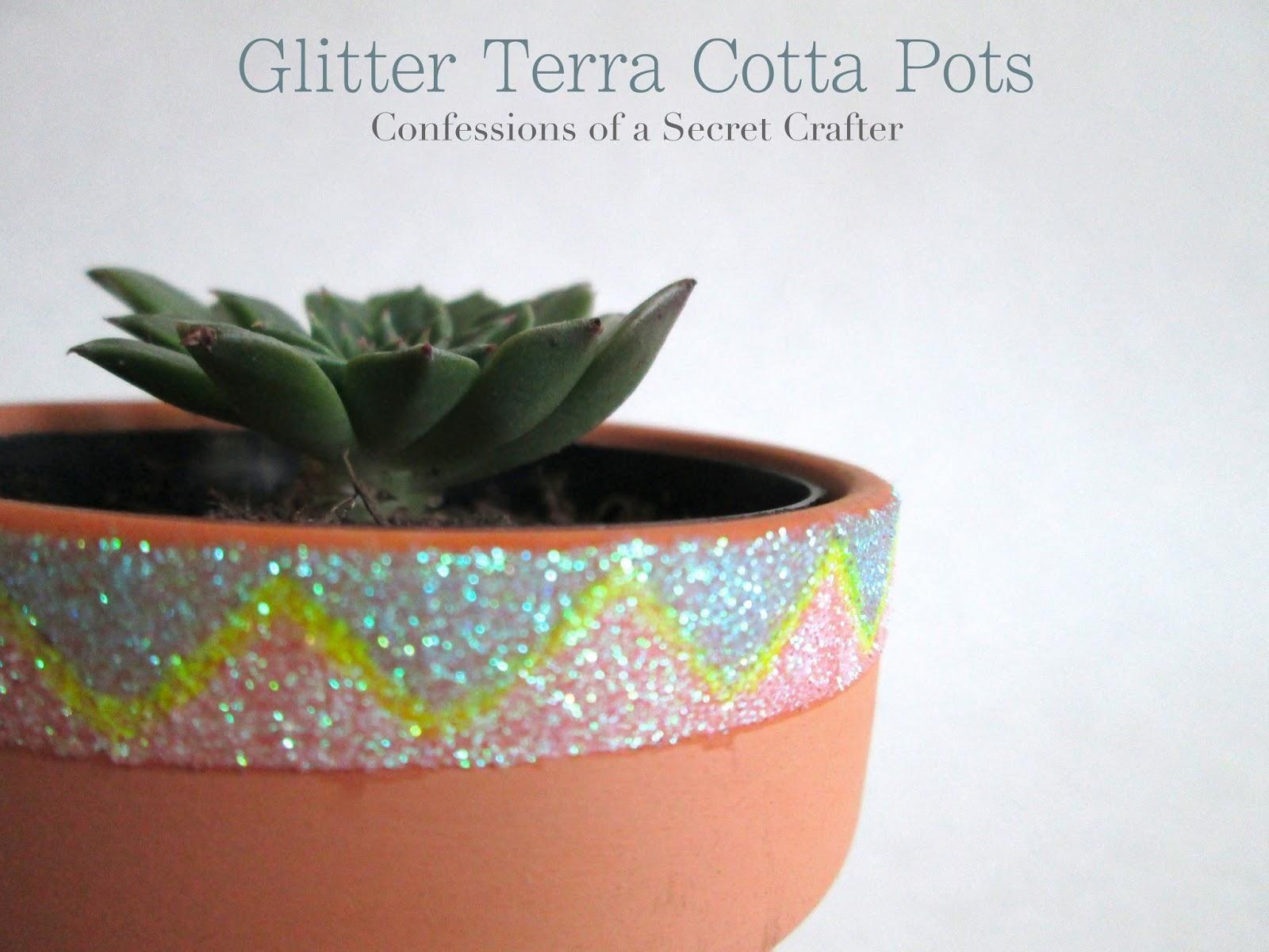 Glitter Terra Cotta Pots Terracotta Pots Clay Pot Crafts Michaels Crafts Store
