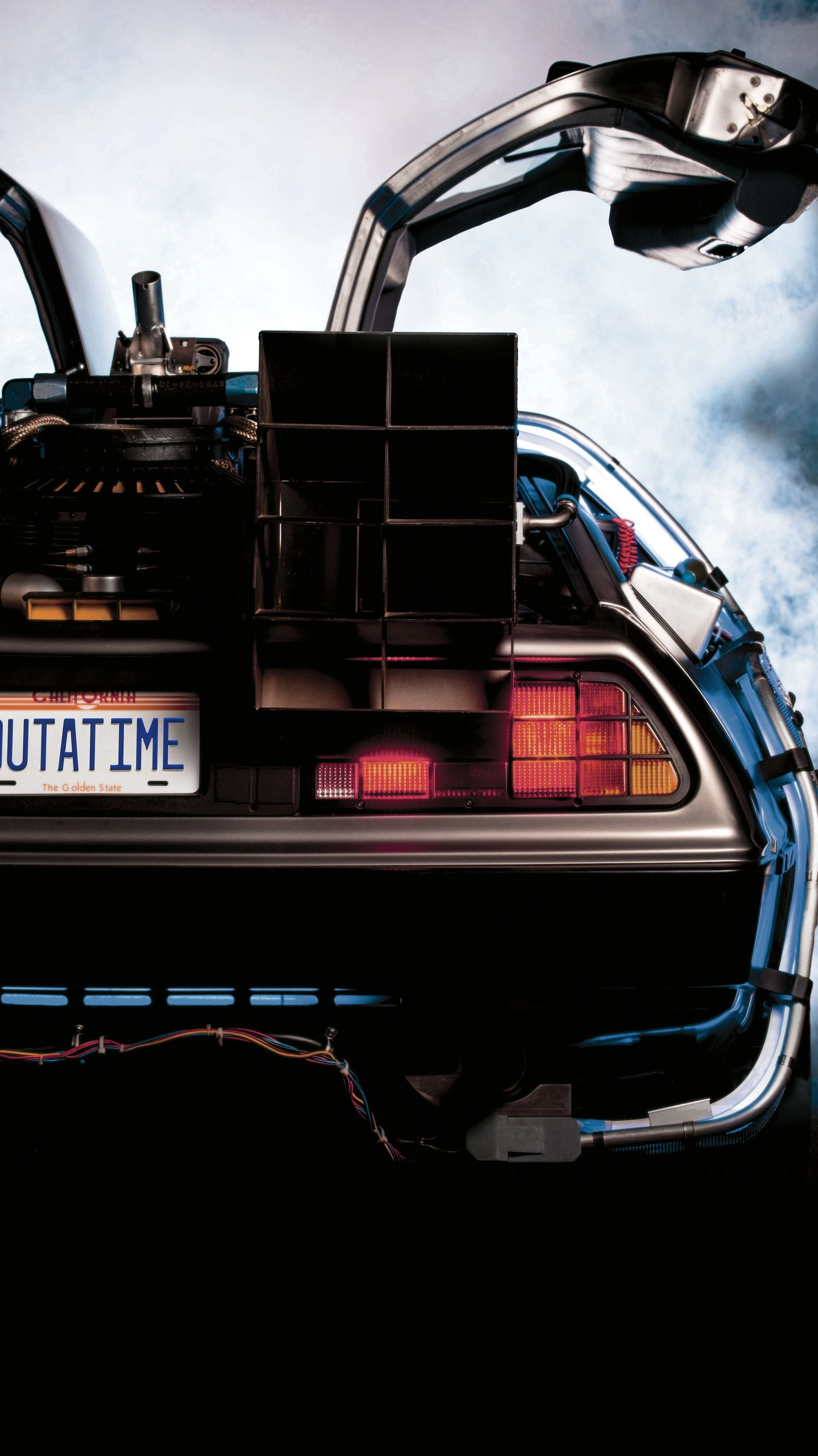 Back To The Future 1985 Phone Wallpaper En 2019 Fondos