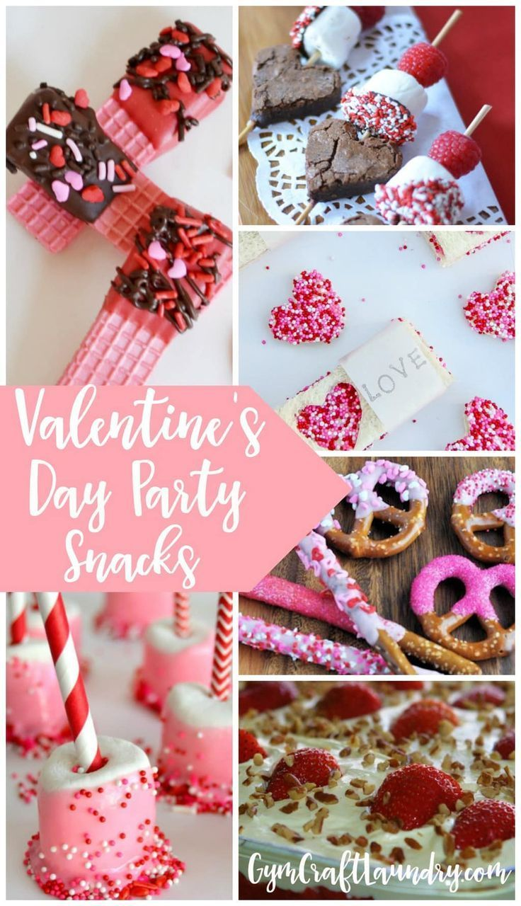Photo of Easy Peasy Valentine's Day Party Snacks