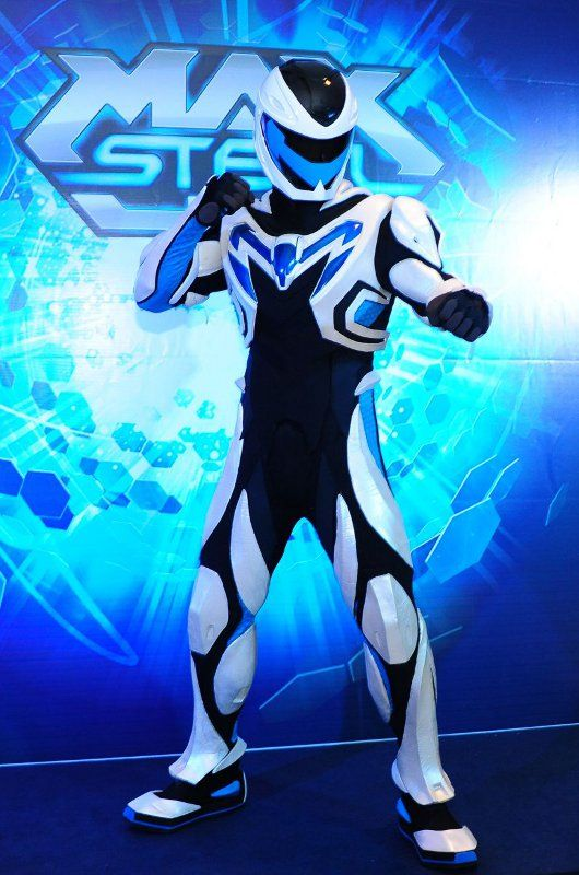 Party City Capes: Max Steel, Cartoon, Halloween Costumes