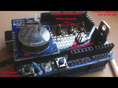 Arduino Auto Doser - Aquarium Dosing DIY - YouTube   Reef