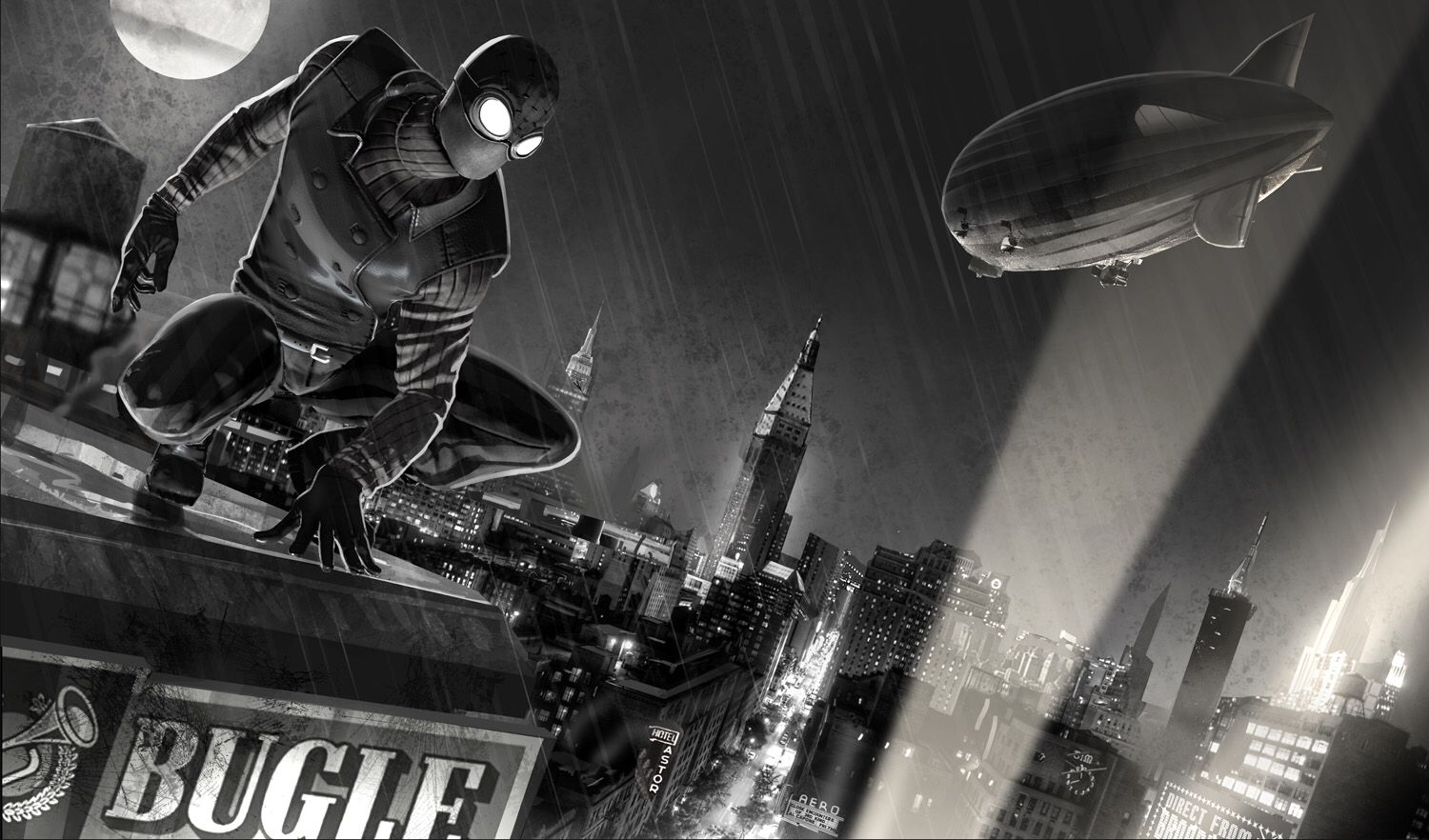 Spider Man Noir Noir Spiderman Spiderman Comic